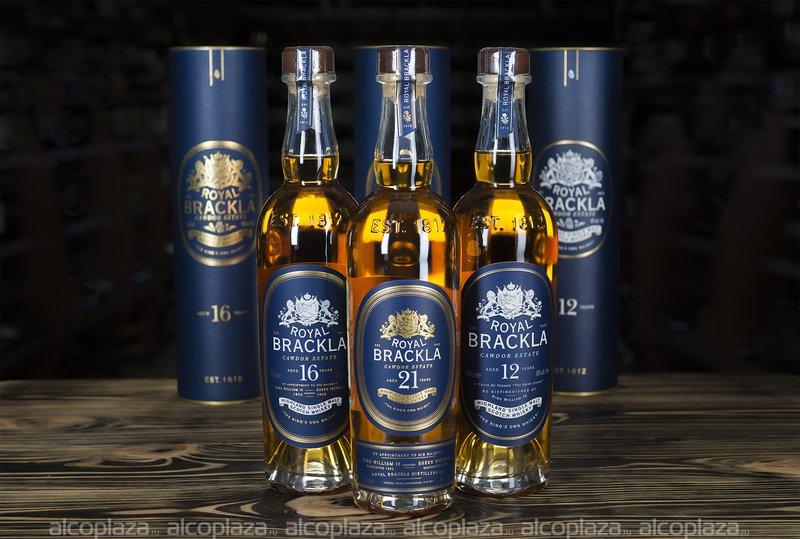 Royal Brackla 16 Years Old 0.7l in tube виски Роял Бракла 16 лет 0.7 л. в тубе