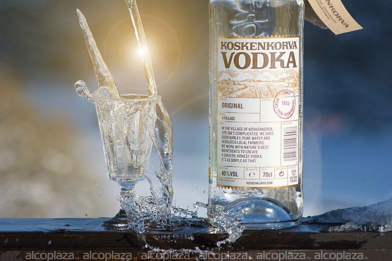 Koskenkorva водка Коскенкорва со вкусом Лимона Лайма 0,7л