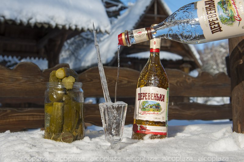 Солнечная Деревенька Хлебная на солодовом спирте Альфа