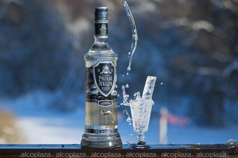 Водка Русская Эскадра