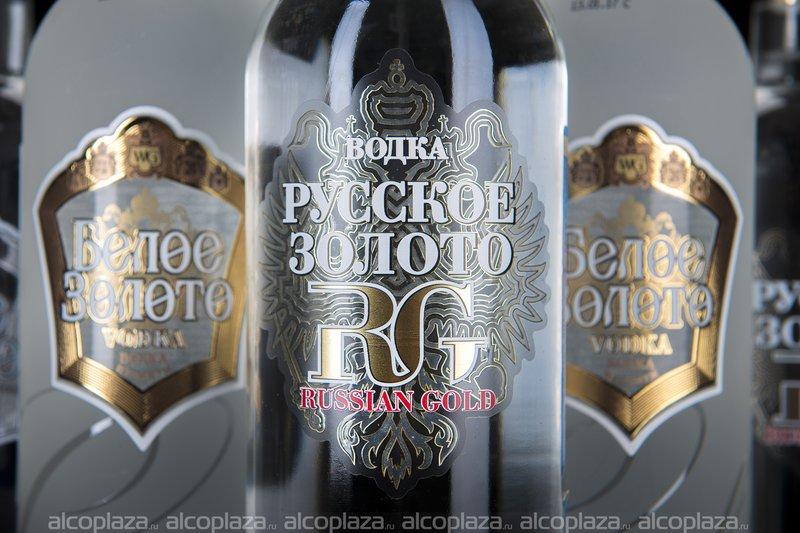 Водка Русское Золото 0.5 л.