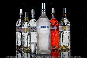 Finlandia Platinum 0.7 водка Финляндия Платинум 0.7 л.