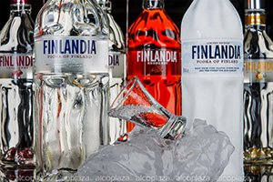 Finlandia Nordic Berries водка Финляндия Северные Ягоды 0.5 л.