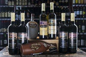 Грузинcкое вино Mamuli Ркацители белое сухое Graneli