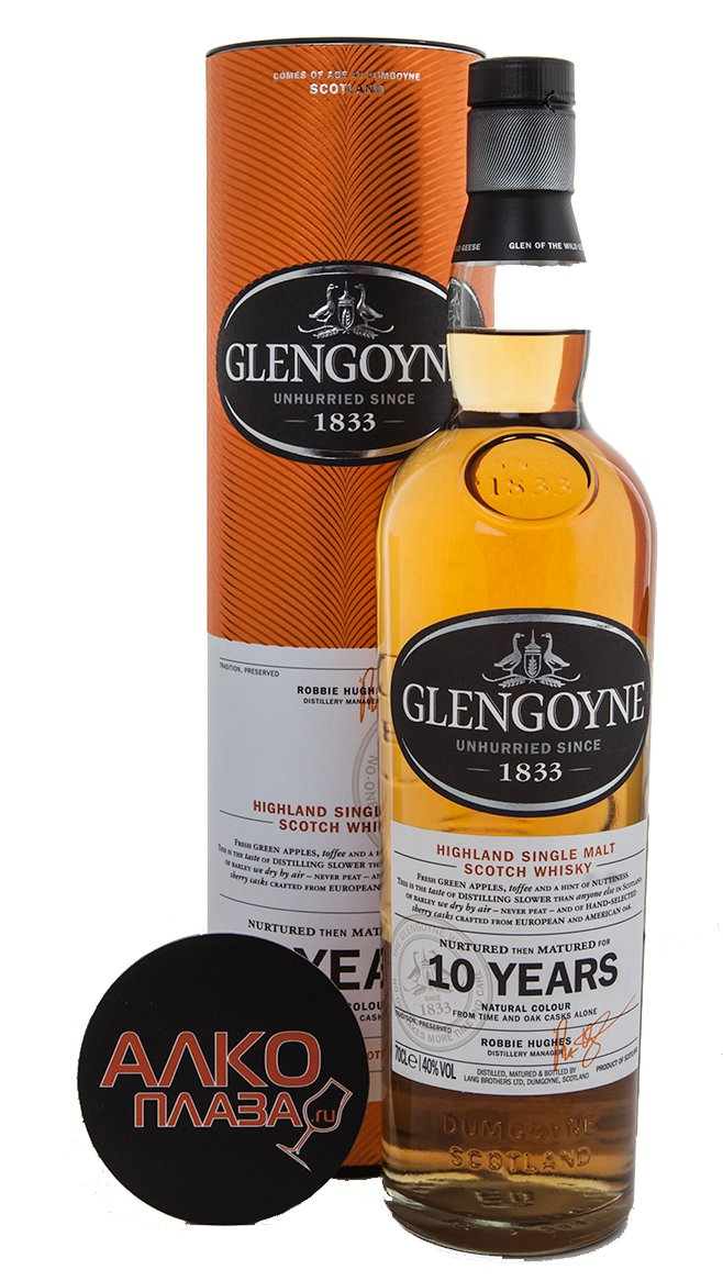 Glengoyne 10 years old - виски Гленгойн 10 лет 0.7 л