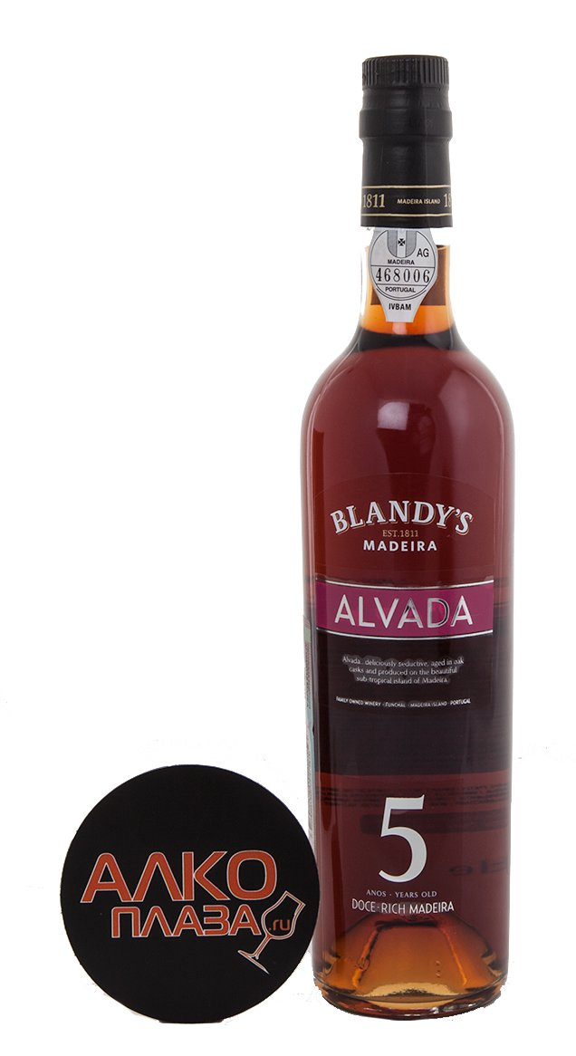 Blandys Alvada Rich 5 years мадера Блэндис Альвада Рич 5 лет
