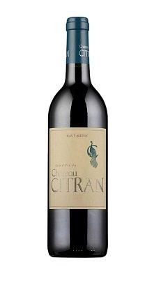 Chateau Citran Haut-Medoc AOC Cru Bourgeois 2005 0.75l французское вино Шато Ситран О-Медок Крю Буржуа 2005 0.75 л.