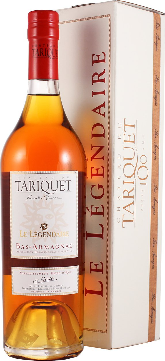 Chateau du Tariquet Le Legendaire 13 years арманьяк Шато дю Тарике Ле Лежандер 13 лет