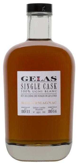 Gelas Single Cask 3 years арманьяк Желас Сингл Каск 3 года