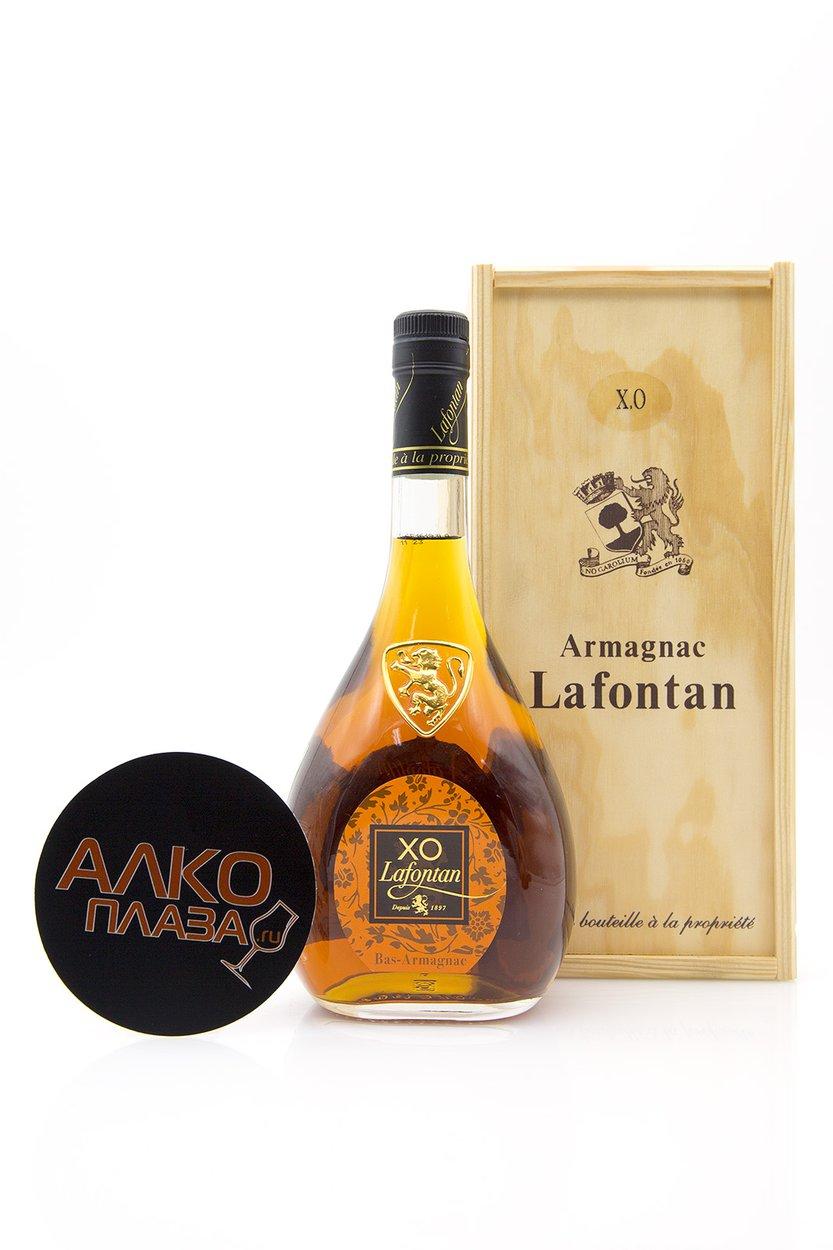Lafontan XO 12 years арманьяк Лафонтан XO 12 лет