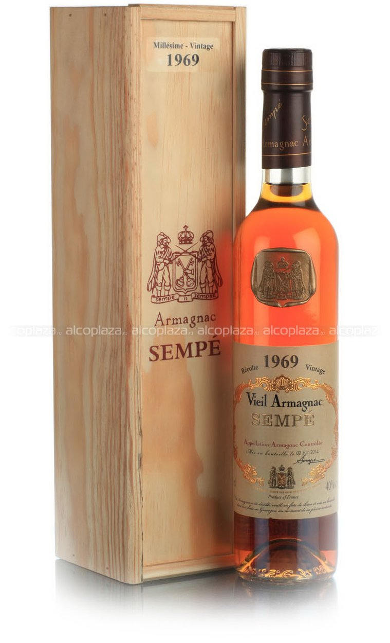 Sempe 1987 арманьяк Семпе 1987 года