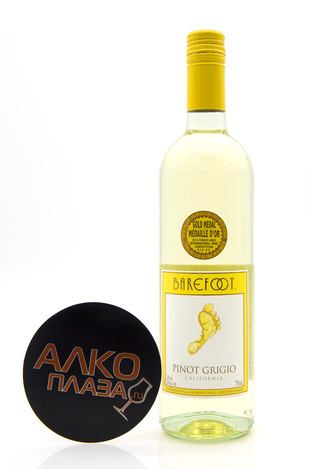 Barefoot Pinot Grigio California американское вино Берфут Пино Гриджио Калифорния