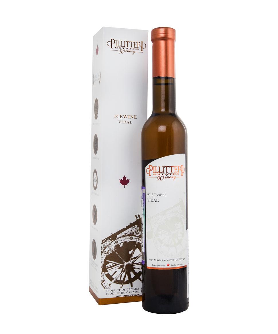Pillitteri Estates Winery Vidal Icewine 2015 Пиллиттери Вайнери Видаль Айсвайн 2015