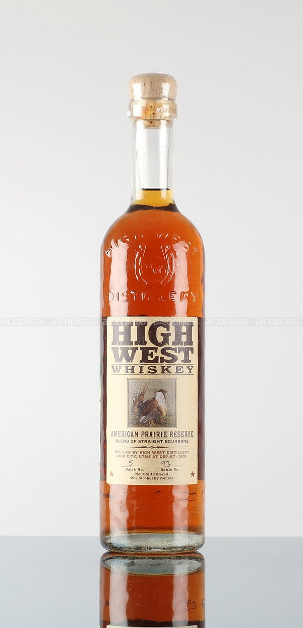 Виски High West American Prairie Reserva. Кукуруза + другие зерновые, 46% / 0.75 л. Виски Хай Вест Американ Прери Резерв.