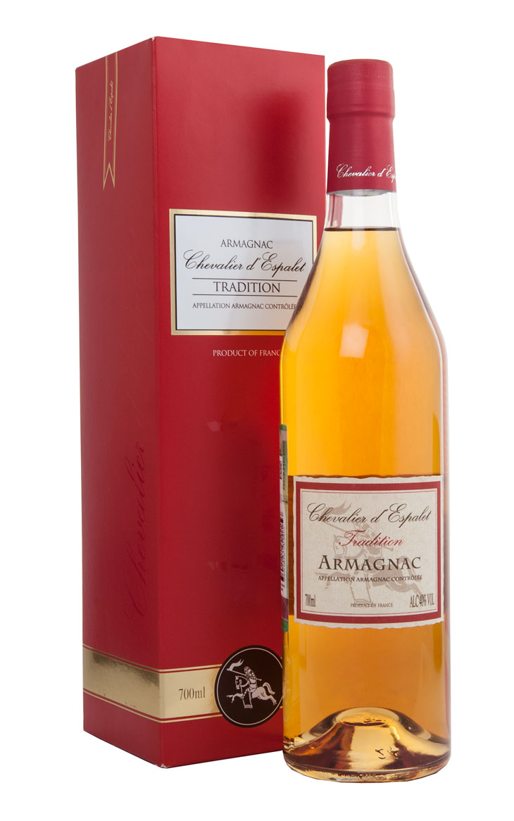 Armagnac Chevalier dEspalet Tradition VS Арманьяк Шевалье дЭспале Традишн ВС