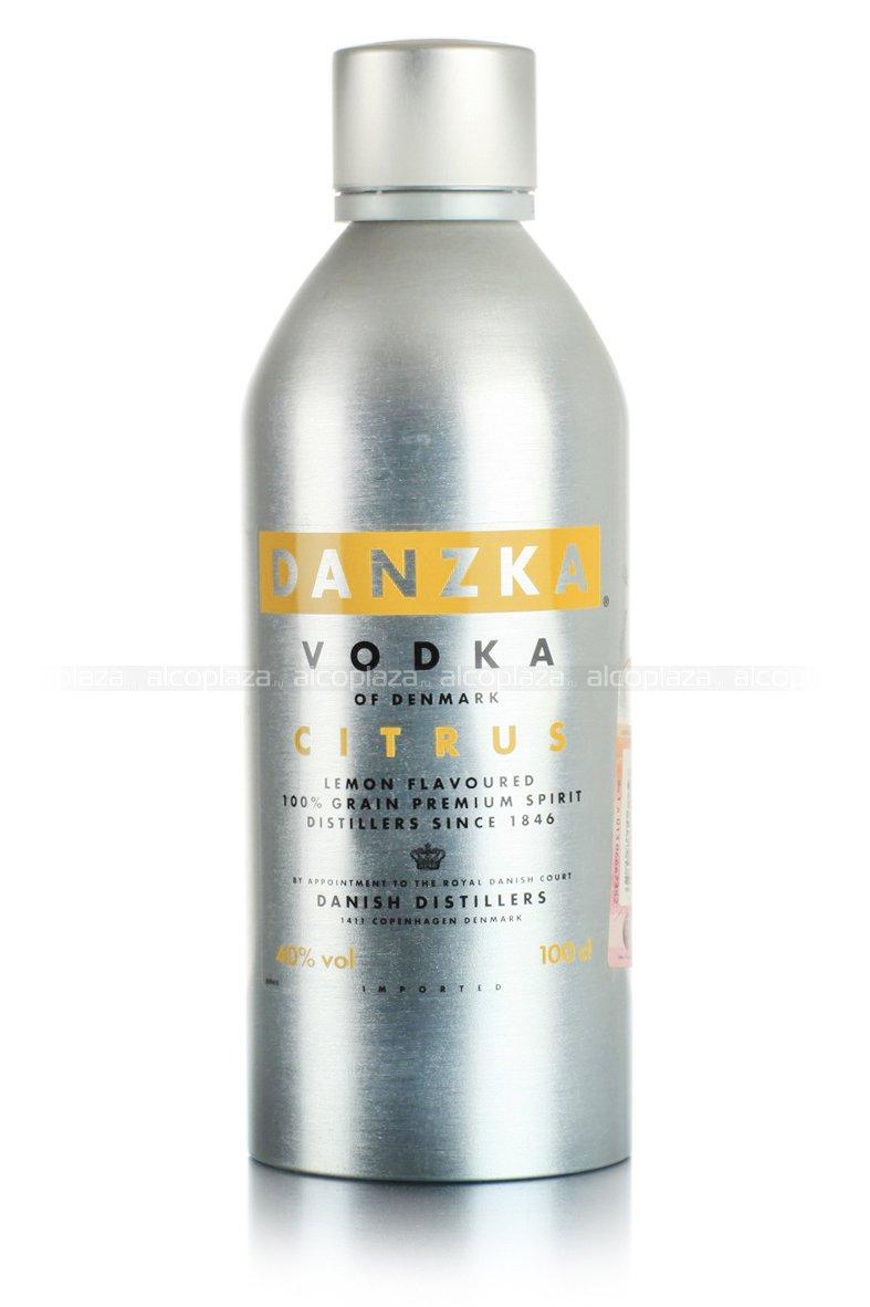 Danzka Citrus 1L водка Данска Цитрон 1 л.