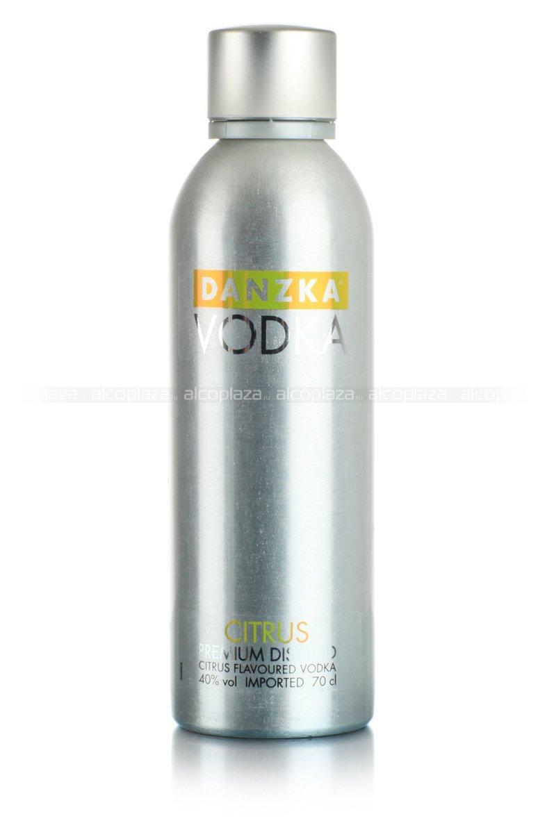 Водка Danzka Citrus 700 ml водка Данска Цитрон 0.7 л.