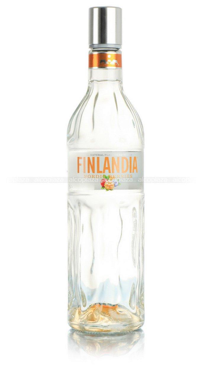 Finlandia Nordic Berries водка Финляндия Северные Ягоды 0.7 л.