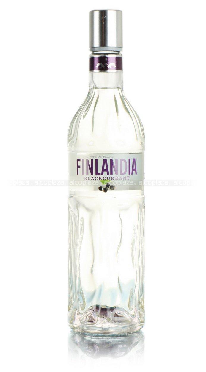 Finlandia Blackcurrant водка Финляндия Черная Смородина 0.7 л.