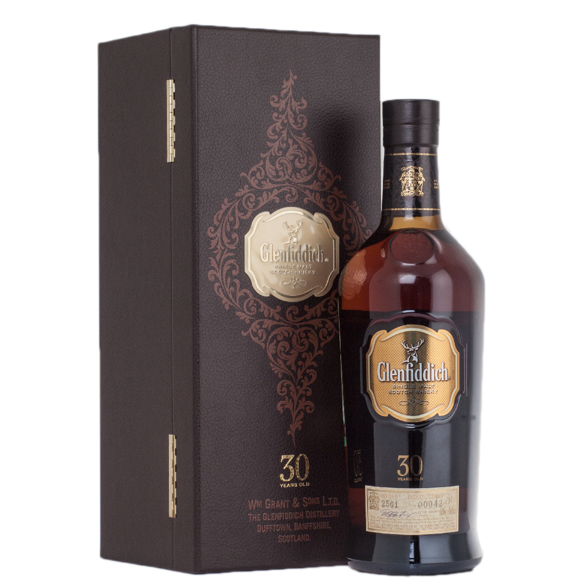 Glenfiddich 30 years old - виски Гленфиддик 30 лет 0.75 л