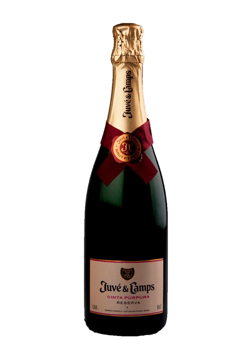 Juve y Camps Cava Cinta Purpura Reserva Brut шампанское Жюве и Кампс Кава Синта Пурпура Резерва Брют