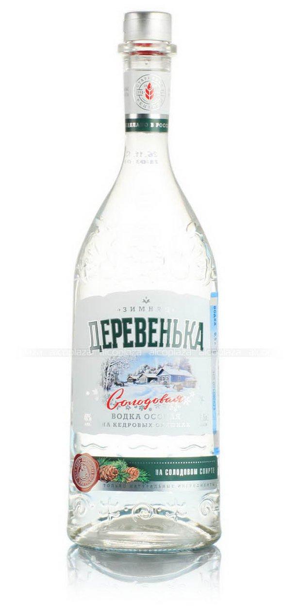 Зимняя Деревенька Кедровая на солодовом спирте Альфа