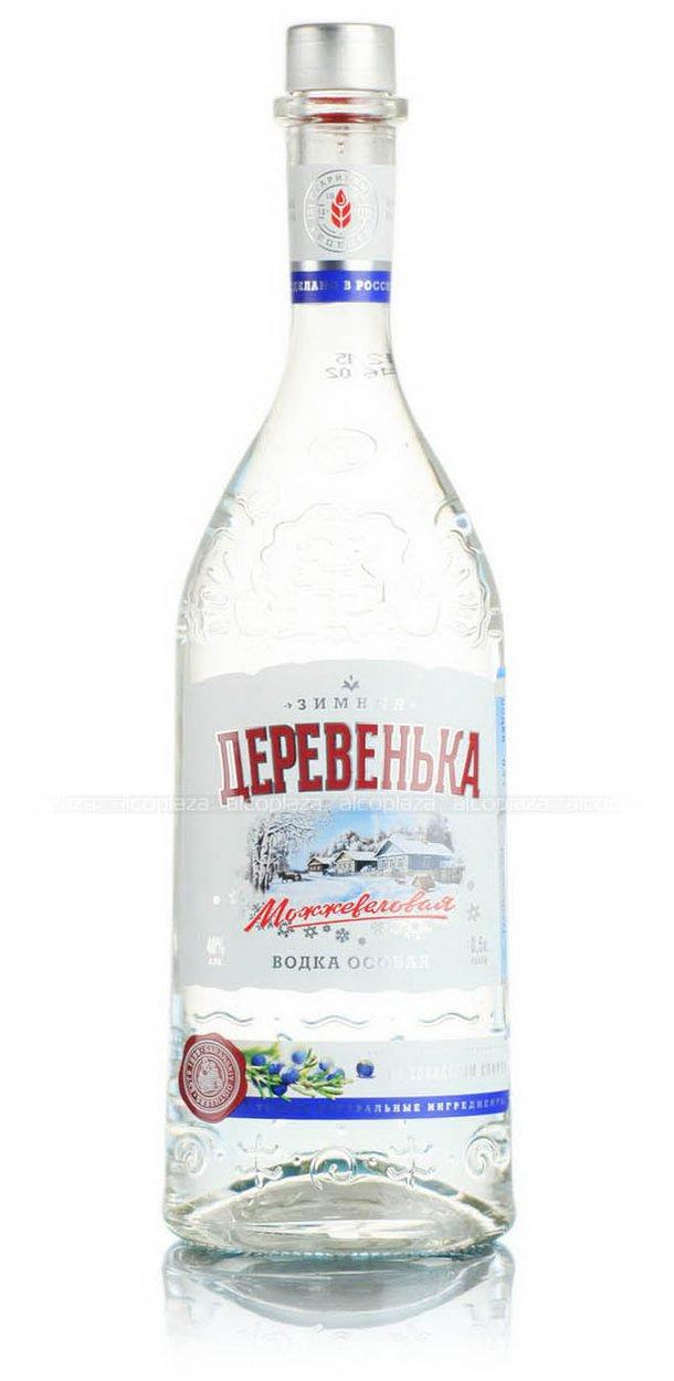 Особая Зимняя Деревенька Можжевеловая на солодовом спирте Альфа