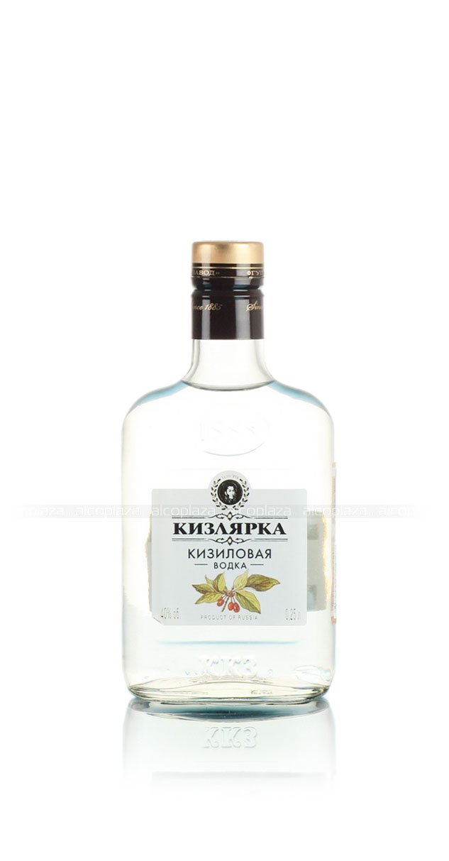 водка Кизиловая Кизлярка 0.25 л.