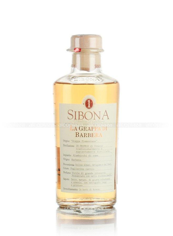 Sibona Barbera граппа Сибона Барбера