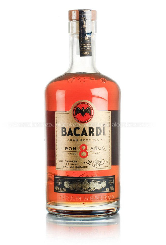Bacardi Reserva Superior 8 years ром Бакарди Резерва Супериор 8 лет