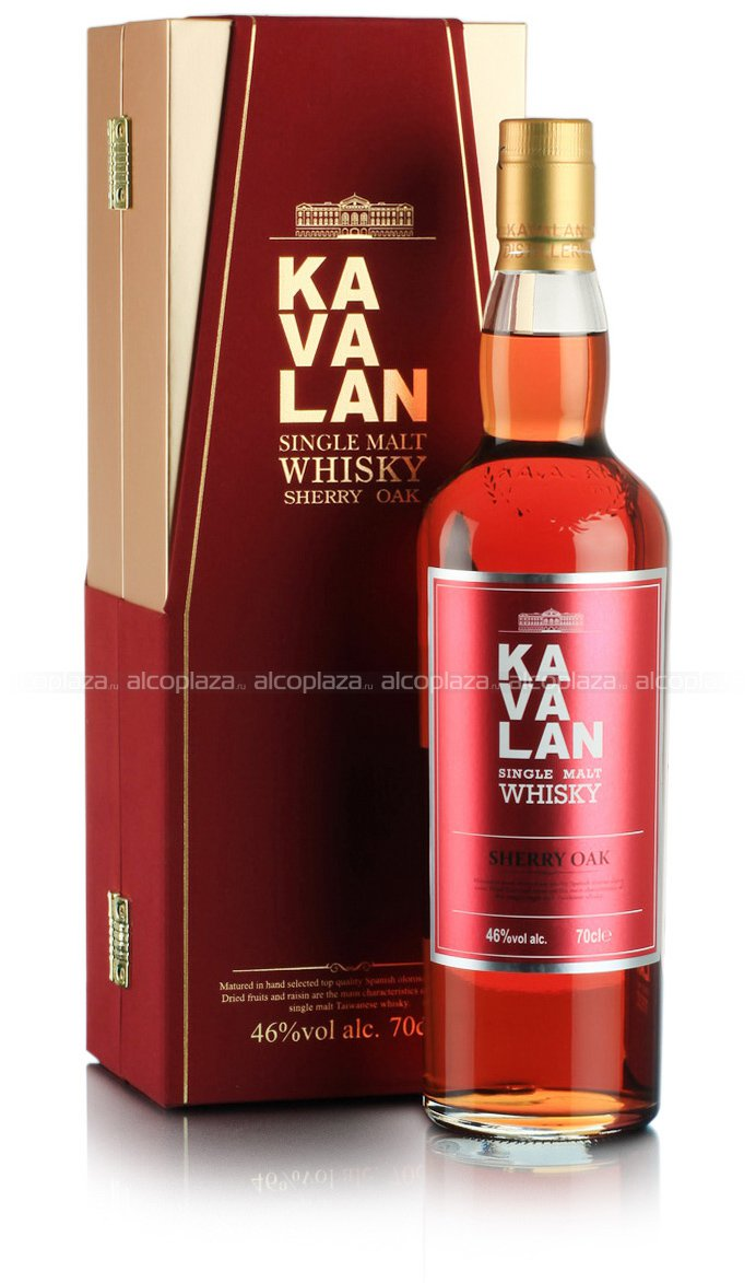 Kavalan Sherry Oak виски Кавалан Шерри Оак