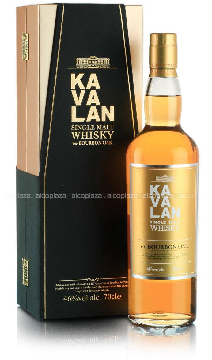 Kavalan ex-Bourbon Oak виски Кавалан экс-Бурбон Оак