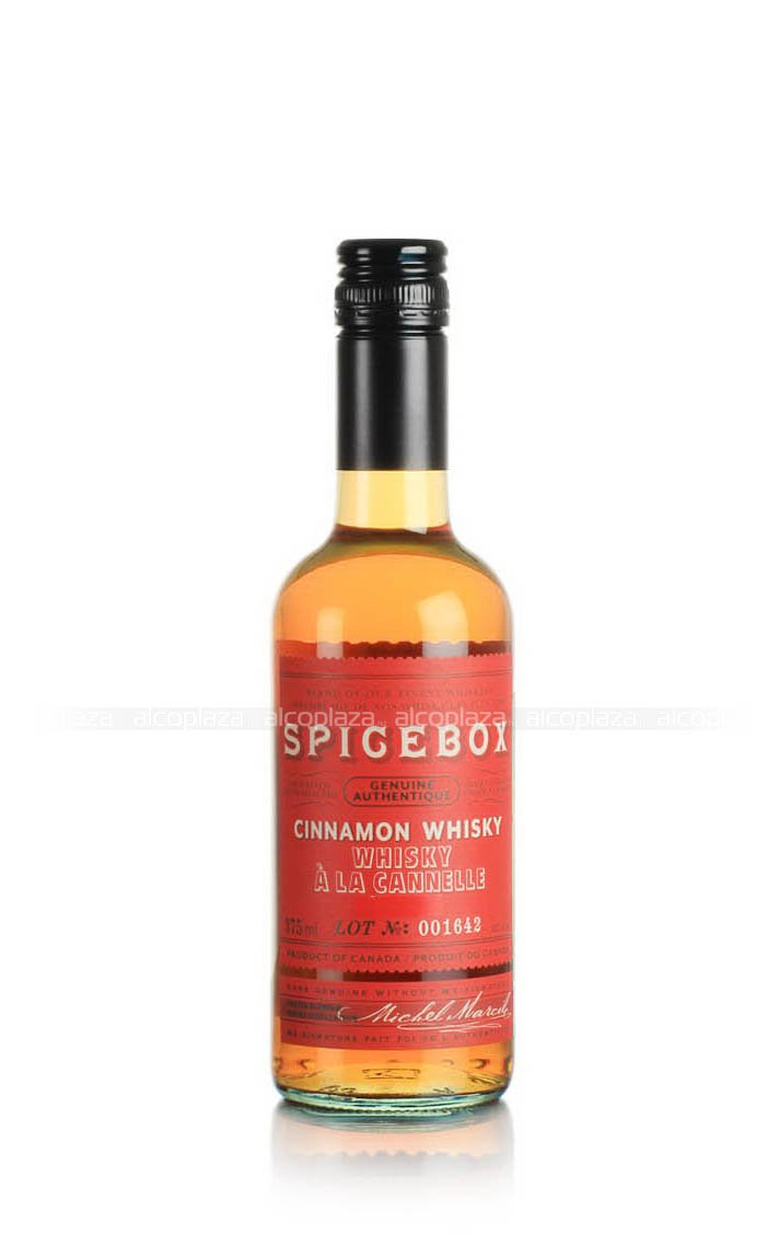 Spicebox Cinnamon 375 ml виски Спайсбокс Корица 0.375 л.