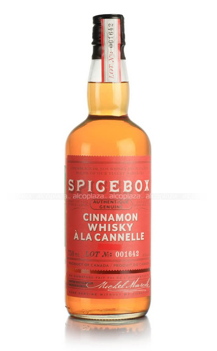 Spicebox Cinnamon 750 ml виски Спайсбокс Корица 0.75 л.