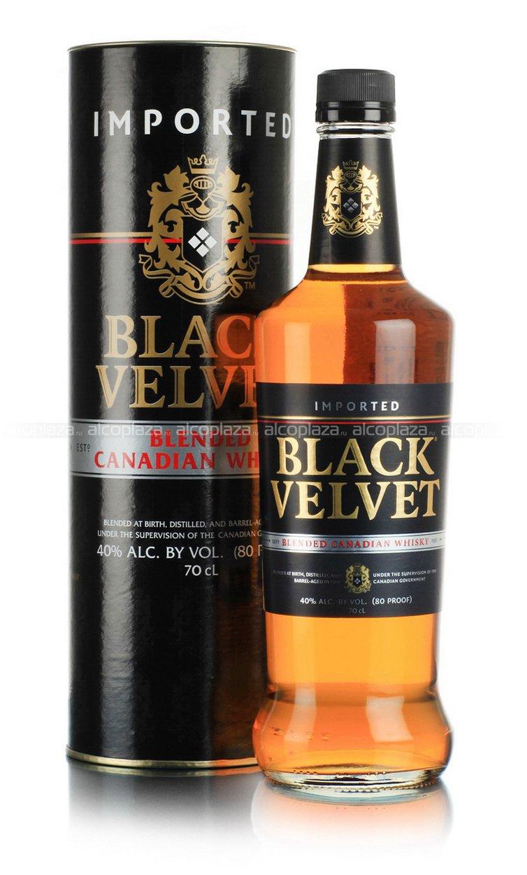 Black Velvet 0.7 виски Блэк Вельвет 0.7 л. в тубе