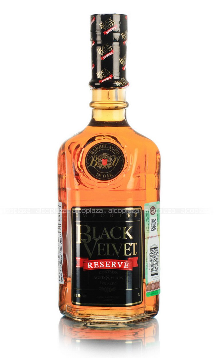 Black Velvet Reserve 8 years виски Блэк Вельвет 8 лет