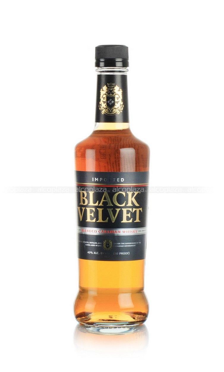 Black Velvet 0.5 виски Блэк Вельвет 0.5 л.