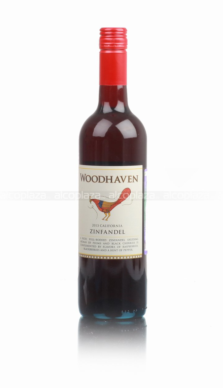 Woodhaven Zinfandel 2013 Американское вино Вудхэвен Зинфандель 2013