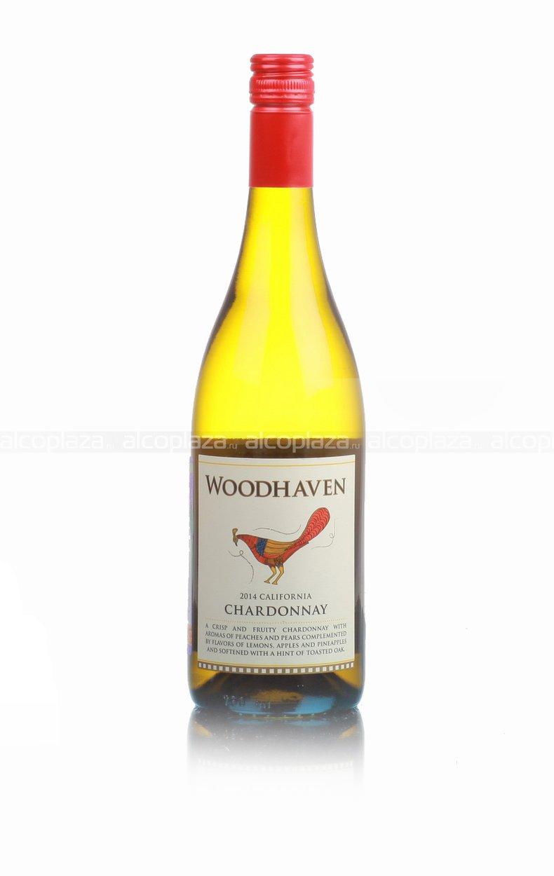 Woodhaven California Chardonnay американское вино Вудхэвен Шардонне