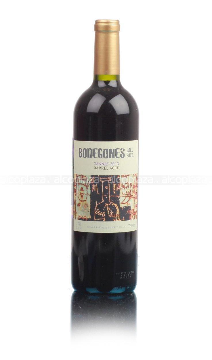 Bodegones Del Sur Tannat Уругвайское вино Бодегонес Дель Сур Таннат