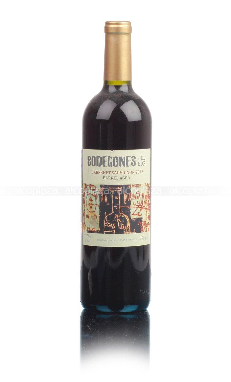 Bodegones Del Sur Cabernet Sauvignon Уругвайское вино Бодегонес Дель Сур Каберне Совиньон