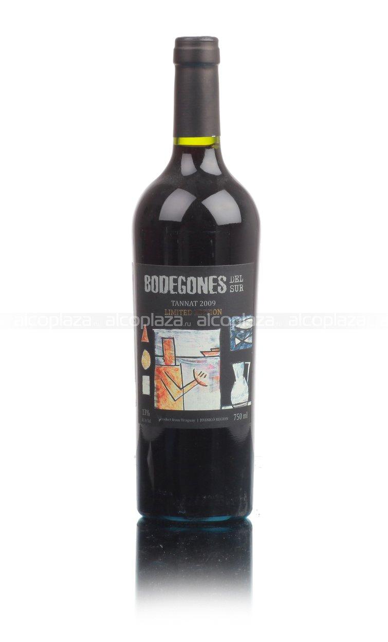Bodegones Del Sur Tannat Уругвайское вино Бодегонес Дель Сур Таннат Ограниченный выпуск
