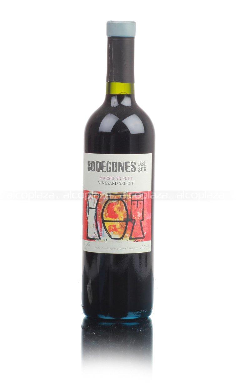 Bodegones Del Sur Tannat Marselan Reserva Уругвайское вино Бодегонес Дель Сур Таннат Марселан Резерв
