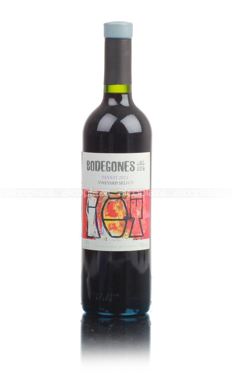 Bodegones Del Sur Tannat Reserve Уругвайское вино Бодегонес Дель Сур Таннат Резерв