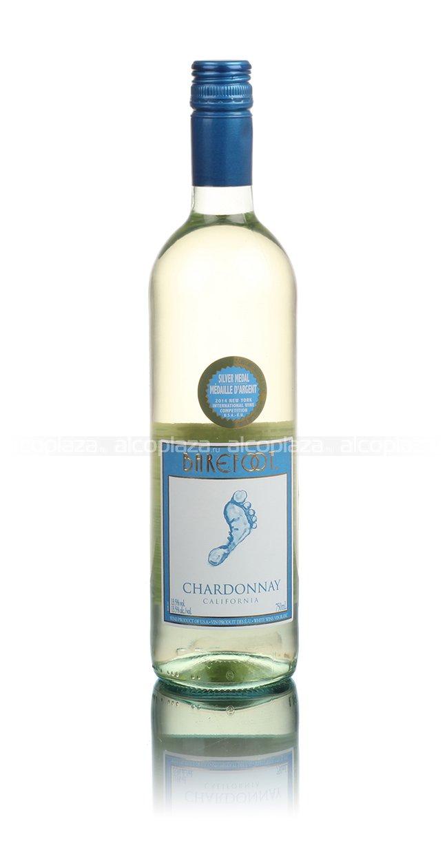 Barefoot Chardonnay California американское вино Берфут Шардоне Калифорния