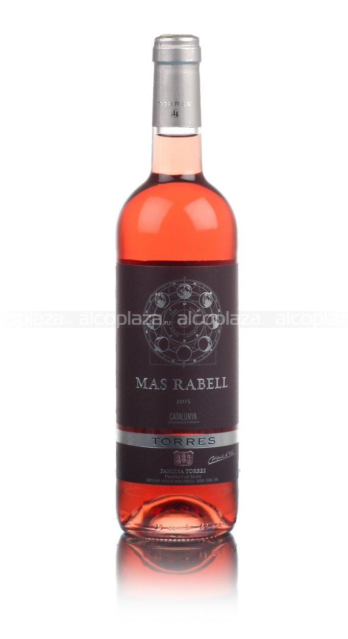 Torres Mas Rabell Rose испанское вино Торрес Мас Рабелль Розовое