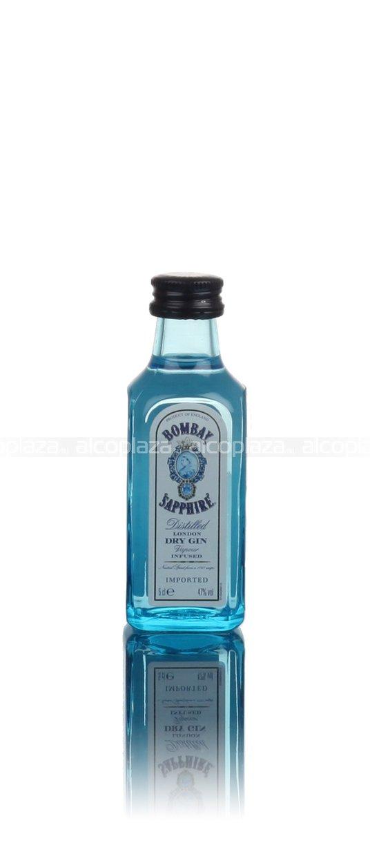 Bombay Sapphire Dry джин Бомбей Сапфир Драй 0.05 л
