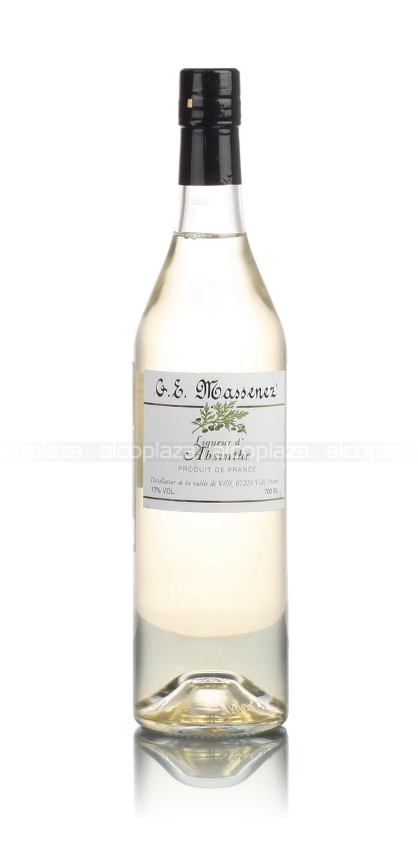 G.E.Massenez Liqueur D`Absinthe абсент Ж.Е. Массене Ликер Д`Абсент