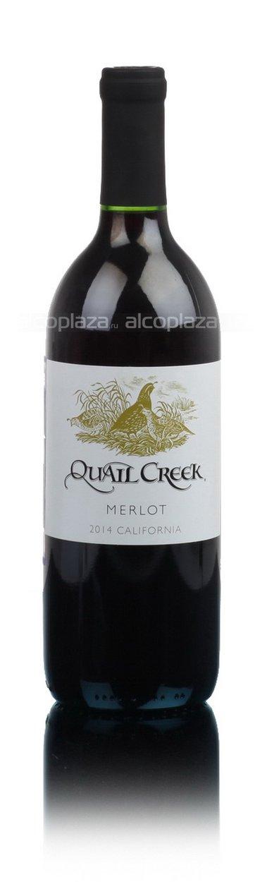 Quail Creek Merlot Вино Квейл Крик Мерло 2014г