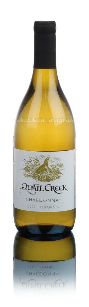 Quail Creek Chardonnay Вино Квейл Крик Шардоне 2015г